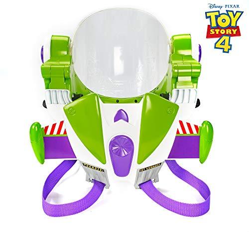Toy Story- Disney Pixar Armatura Space Ranger di Buzz Lightyear, Indossabile con Suoni, Ali Jet Pack, Casco con Visiera Apribile, per Bambini da 3+ Anni, GFM39