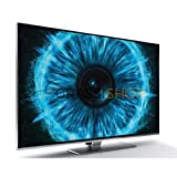 "Grundig 55 VLX 9681 SP 55"" 4K Ultra HD Compatibilità 3D Smart TV Wi-Fi Argento"