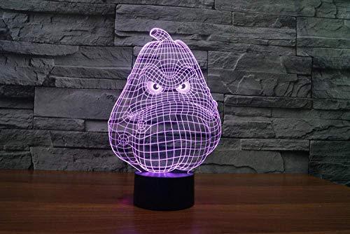 Wax Gourd 7 Farblicht 3D Visual Led Nachtlicht Kinder Touch