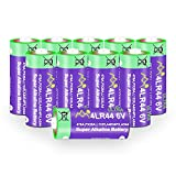 10 Pack 4LR44 6V Battery PX28A 476A A544 K28A L1325 Battery 6V Alkaline Free Mercury Batteries for Dog Collars Camera