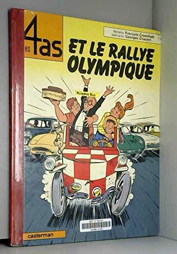 Les 4 as, tome 8 : Les 4 as et le rallye olympique