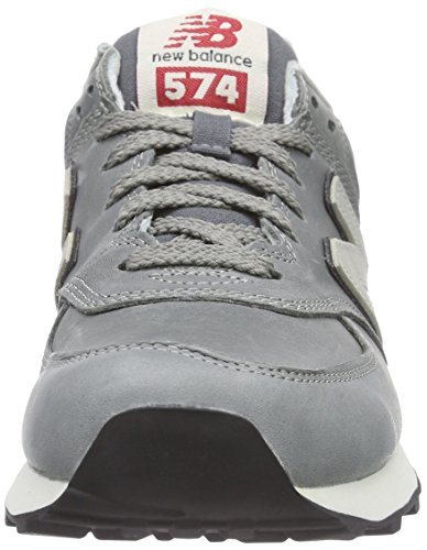 New Balance Ml574 D, Baskets Basses Homme Gris (grey)