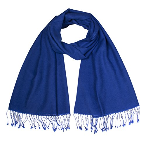 The Cashmere Choice - Pashmina - Femme Azul Blue 029