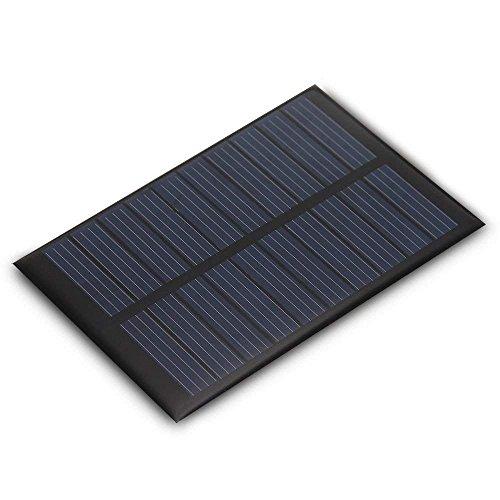 2 Stück x 1 Watt, 5 Volt Solarpanel Solarmodul DIY 200 mA, 2 pcs x 1 Watt