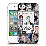 Official Justin Bieber Calendar Black And White Purpose Soft Gel Case for Apple iPhone 7 Plus / 8 Plus