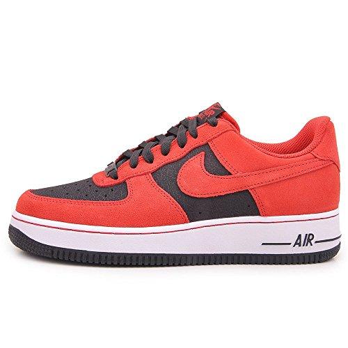 Nike Air Force 1 Herren Sneakers Rot/Schwarz
