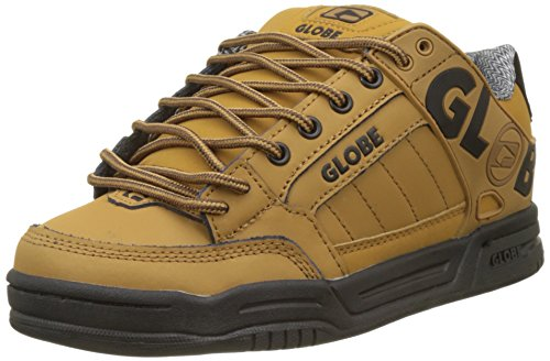 Globe Tilt, Scarpe da Skateboard Uomo Marrone (Wheat/black/winter 16276)