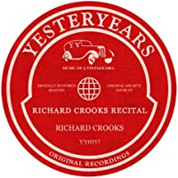 Richard Crooks Recital