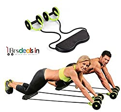 BEST DEALS - Home Total-Body Fitness Gym Revoflex Xtreme Abs Trainer Resistance Exerciser