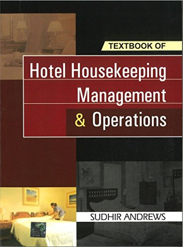 Textbook of Housekeeping Management and Operations