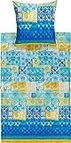 Bassetti Vietri Bettwäsche, Baumwolle, Blau, 135 x 200 x 1 cm, 2-Einheiten