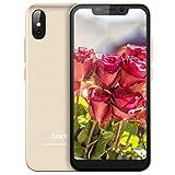 【2019】Blackview A30 Smartphone Dual Sim da 16GB, 32GB Espandibili, Android 8.1 Oreo, Doppia Fotocamera 8 e 5MP, 2500mAh, 5.5' (19:9) HD IPS 3G Cellulari Offerte, Face ID/GPS/Hotspot/WIFI-Oro [Italia]