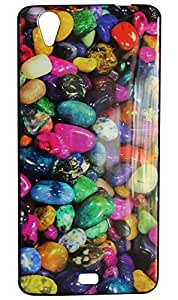 Vcare Shoppe Exclusive Printed Back case cover for Gionee P4S
