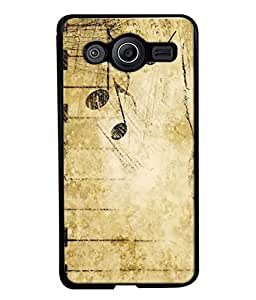 PrintVisa Designer Back Case Cover for Samsung Galaxy Core i8262 (old shaddy mixed white cream )