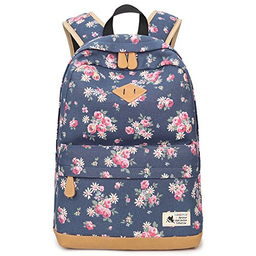 ANNE , Damen Rucksackhandtasche schwarz dunkelblau Dunkelblau