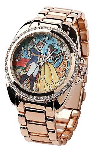 La Belle Et La Bête Belle Montre bracelet couleur or