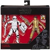 Star Wars Black Series Action Figure Figura 2 Pack 2015 Poe Dameron e Stormtrooper Exclusive 15 cm