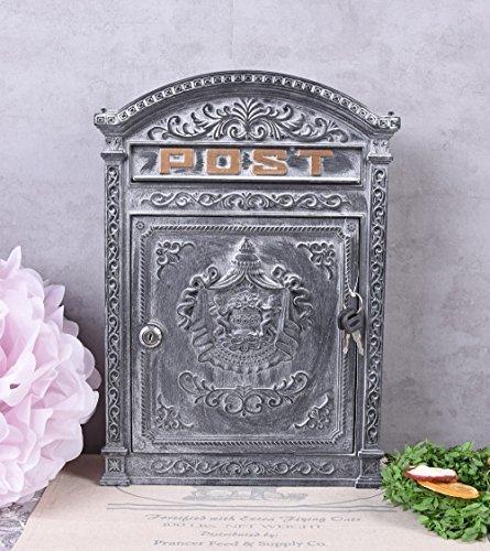 Briefkasten Antik Wandbriefkasten Landhausstil Postkasten Aluminium Palazzo Exklusiv