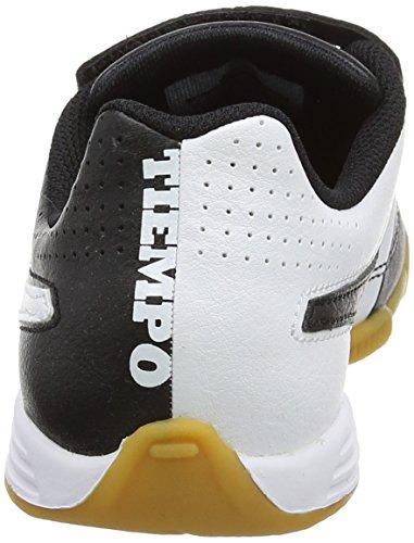 Nike - Jr Tiempo V4 Ic, Scarpe sportive Bambina Nero (Black/white Black)