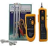 Network LAN Ethernet Phone Telephone Cable Toner Wire Tracker Tracking System & Tester