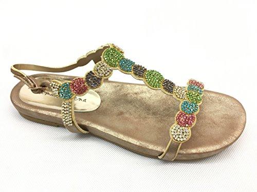 Sandali Mult en Pena Multicolore 328 donna Alma tSzIqx