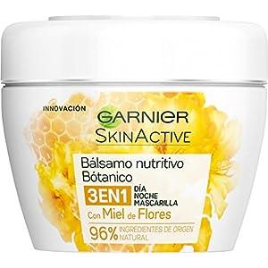 Garnier Skin Active Set de Balsamo Nutritivo Botanico de Dia y de Noche y Mascarilla con Miel de Flores – 2 Paquetes (2 x 140 ml)