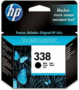 HP 338 Schwarz Original Druckerpatrone für HP Deskjet, HP Officejet, HP Photosmart, HP PSC