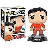 Funko - Figurine Star Wars The Force Awakens - Poe Dameron Jumpsuit Exclusive Pop 10cm - 0849803096236