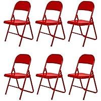 Alpisedia Lift Sedia pieghevole, metallo, rosso, 46,5x 44,5x 78,5cm - Arredamento - Confronta prezzi
