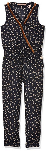 Scotch & Soda R´Belle Fluid All-In-One with Print & Fringes, Pantalones de Peto para Niñas Scotch & Soda RŽBelle