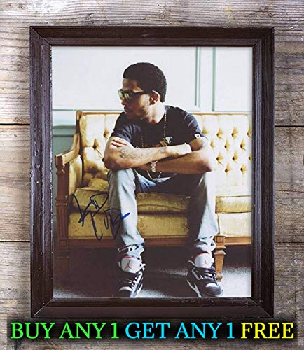 Kid Cudi Man On The Moon: The End of Day Autographed Reprint 8X10 Photo #75 Special Unique Gifts Ideas for Him Her Best Friends Birthday Christmas Xmas Valentines Anniversary Fathers Mothers Day