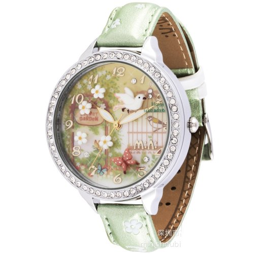 fashion-rhinestone-children-watch-for-girls-bird-flower-secret-garden-theme