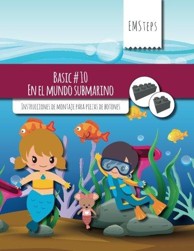 EMSteps #10 En el mundo submarino: Instrucciones de montaje para piezas de botones: Volume 10 (EMSteps Basic)