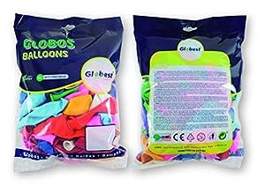 Globest- Globos de látex decoración, Color surtido (Festival 50255)