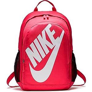 Nike Hayward Futura Bkpk Solid Mochila, Hombre, Blanco/Negro/Rosa (Rush Pink), S