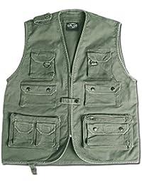 Mil-Tec Moleskin Fishing Vest Olive