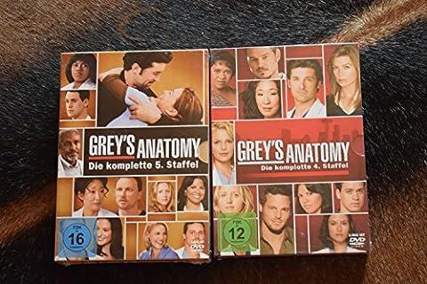 Grey's Anatomy: Die jungen Ärzte - Die komplette 4. + 5. Staffel [12-Disc / 2-Boxen]