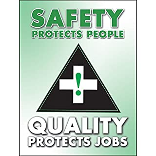 Accuform Signs PST116 Safety Awareness Poster,
