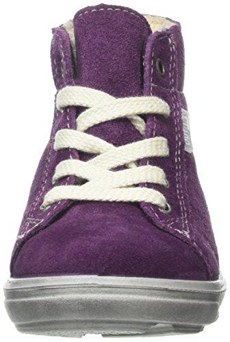 Ricosta - Zaini, Scarpe da ginnastica Bambina Viola (Violett (Merlot 365))