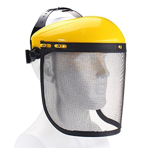 tallgitter Visier Schutzhelm Hut Für Kettensäge Freischneider Vollgesichtsschutz Maske (Kettensäge Maske)