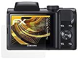 Samsung WB100 Protezione Pellicola dello Schermo - 3 x atFoliX FX-Antireflex anti-riflesso Pellicola Protettiva
