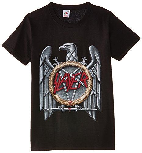 Rock Off - Maglietta, Manica corta, Uomo, nero (Black), XL