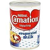 Nestle Carnation Leche Evaporada - 6 Paquetes de 410 gr - Total: 2460 gr