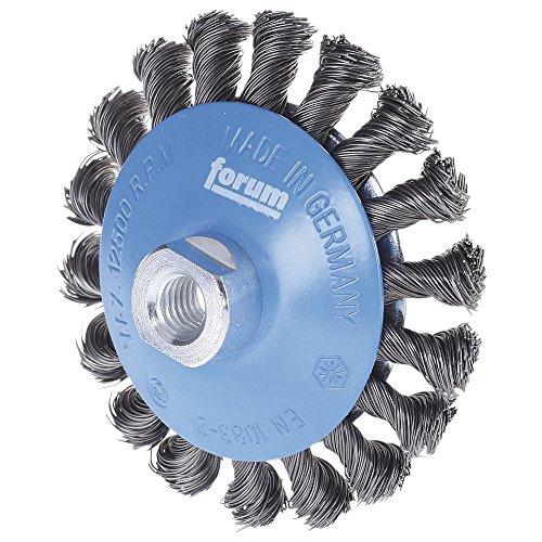 Forum biseau Brosse métallique en acier M14 115 x 0,50 mm gezopft, 4317784861342