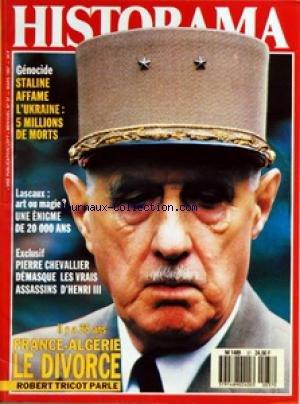 Duel Pour Un Roi - HISTORAMA [No 37] du 01/03/1987 - LASCAUX