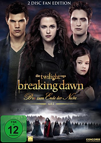 Breaking Dawn - Bis(s) zum Ende der Nacht - Teil 2 (Fan Edition) [2 DVDs] (Dvd Twilight Filme)