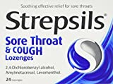 Best Sore Throat Drops - Strepsils Sore Throat And Cough Lozenges - 24 Review
