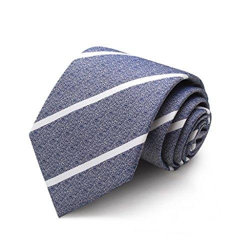 Necktie Cuiping- Hochwertige Maulbeerseide-Bindung männliche formale Abnutzungs-Geschäfts-Art- und Weisekoreanische gestreifte Bindungs-Beruf