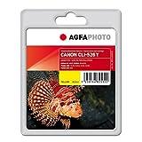 AgfaPhoto APCCLI526YD CLI-526 Y mit Chip Druckerpatrone für Canon, gelb
