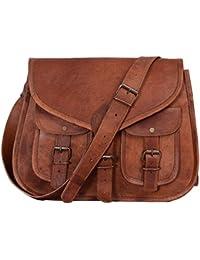 KPL 35,6cm Cuir Sac à main femme Sac à bandoulière sacoche de hanche Ladies Tote Voyage Diaper Sac à main en cuir véritable